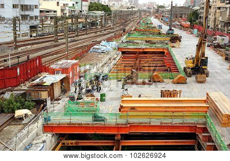 Large Scale Construction Project