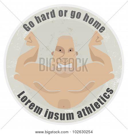 Strongman emblem