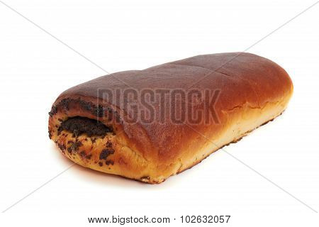 Loaf with poppy seeds