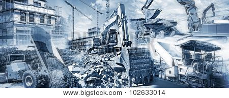 Construction Equipment And Building Sites