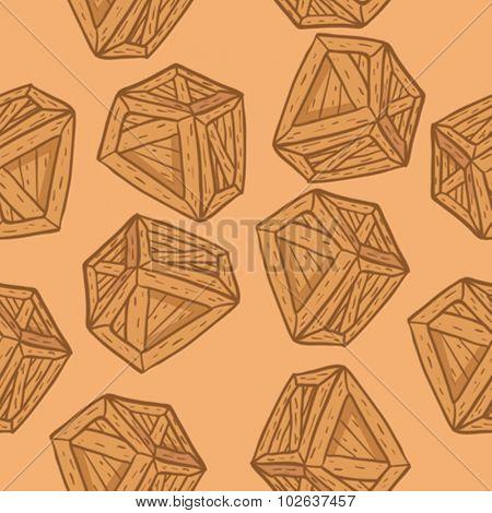 wooden box seamless pattern