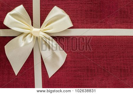 Gift box closeup