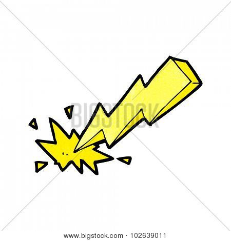 cartoon thunderbolt