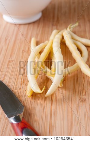 Yellow Runner Beans