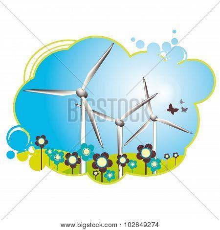 Cheerful Wind Turbines