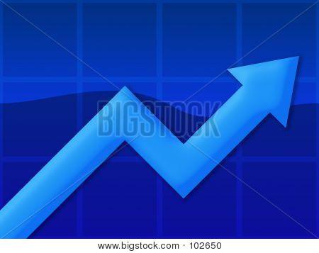 Grafiek Blue