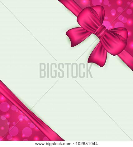 Elegant bow for present gift