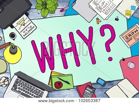 Why Question Reason Curious Confuse Concept