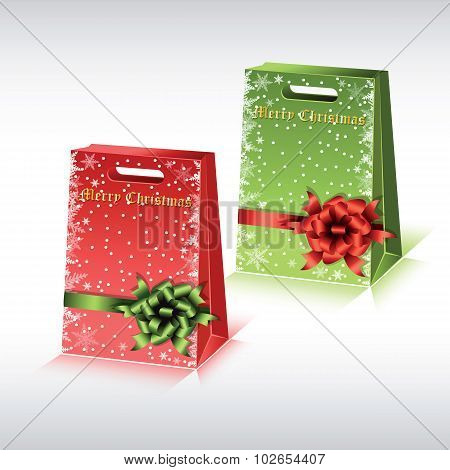 Colorful Paper Shopping Bags.