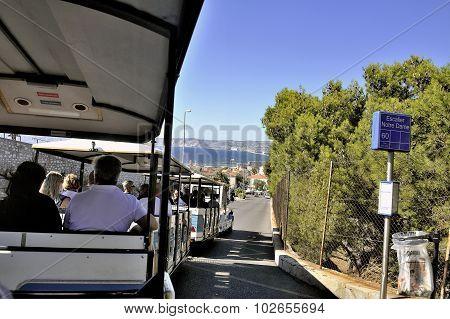The Small Marseille Tourist Train