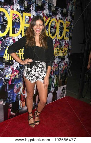 LOS ANGELES - SEP 23:  Rebecca Black at the KODE Magazine October 2015 Issue Party at the The Well on September 23, 2015 in Los Angeles, CA