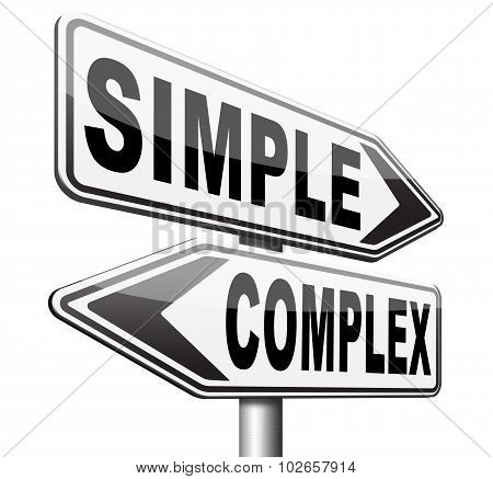 Simple Or Complex