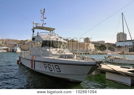 Ship Of The French Coastguard