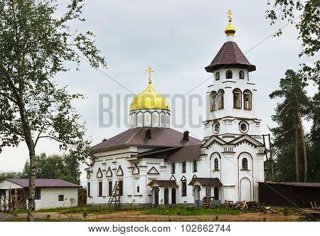 The Church Of Alexander Nevsky. Pudozh. Karelia. Russia