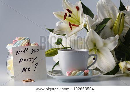 Breakfast Concept. Cup Of Tea