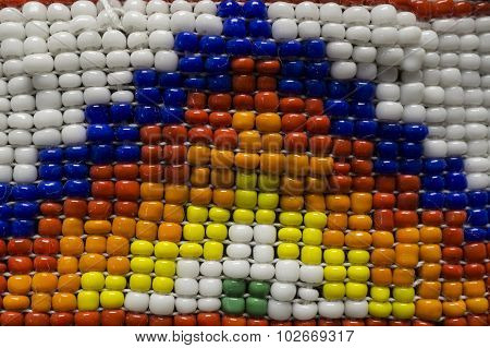 Colorful Native American Indian Style Beads
