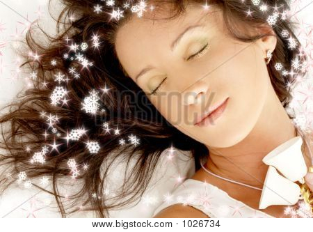 Christmas Dream With Snowflakes