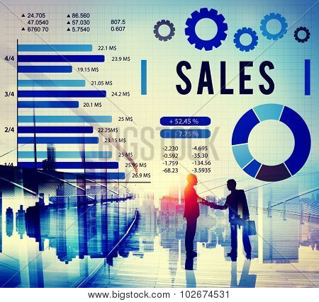 Sales Economy Financial Payment Selling Concept