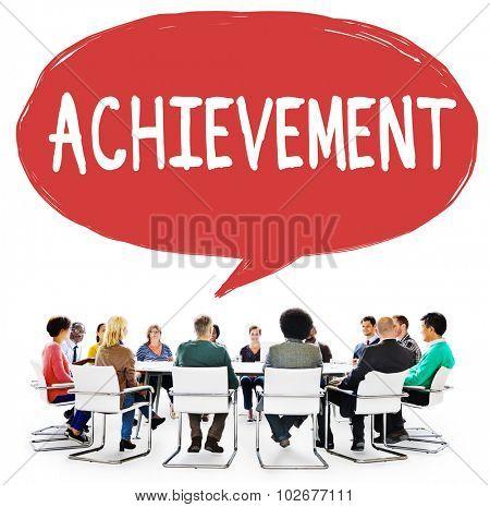 Achievement Goal Target Success Accomplishment Concept