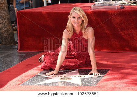 LOS ANGELES - SEP 24:  Claire Danes Walk of Fame Honors Claire Danes  on September 24, 2015 in Hollywood, CA