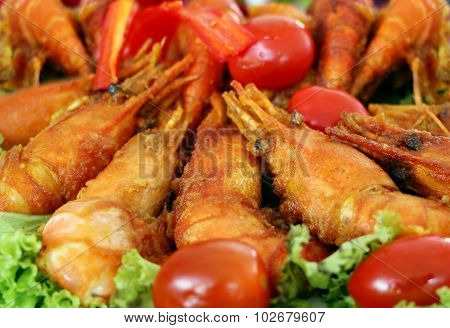 Delicious Fresh Fried Shrimp