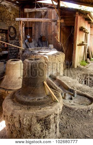 Historical Process Of The Production Of Brass Bells - Umbria, Italy