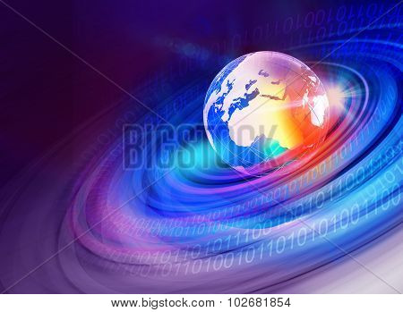 Graphical Digital World Background 3