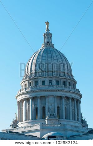Madison, Wisconsin Capitol Building