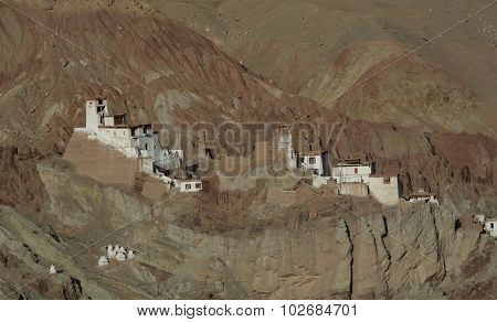 Houses Of Local Residents In Ladakh