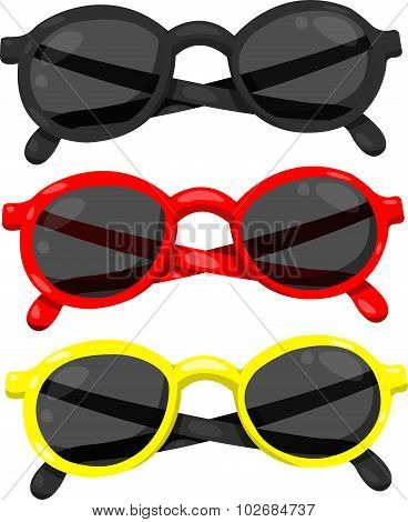 Illustrator of eyeglasses