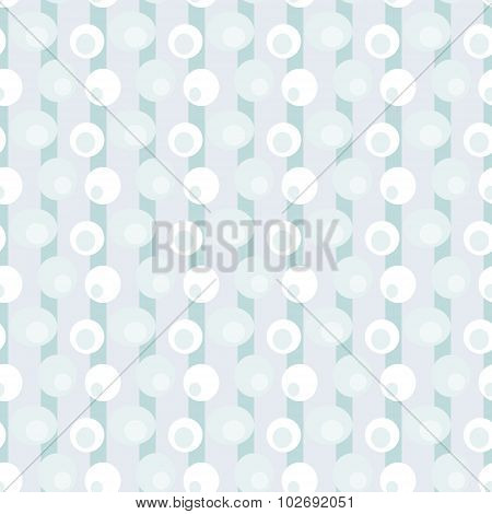 Abstract retro pattern in light  blue colors . Vector seamless b