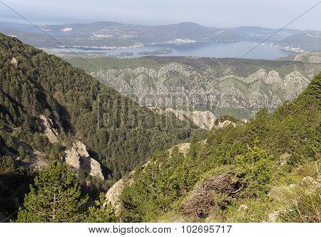 Montenegro mountains
