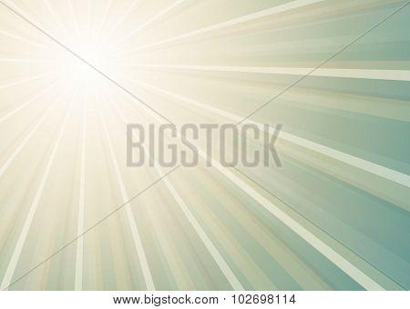 Sun Shining Background
