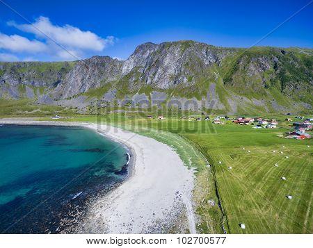 Beach In Unstad