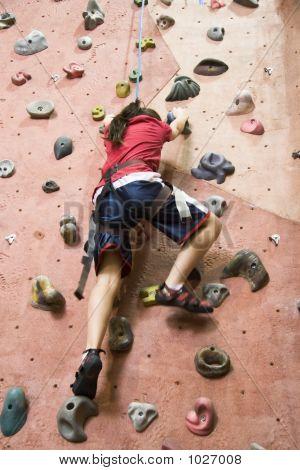 Serie de escalada de roca A 6