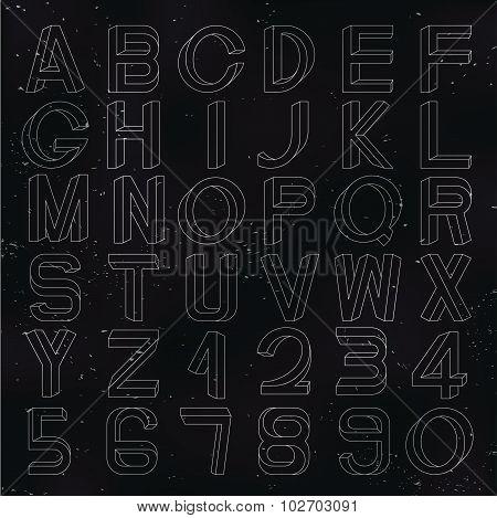 Impossible font set