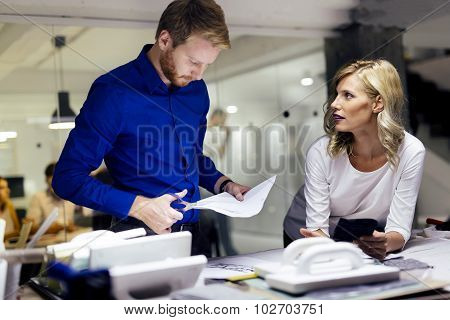 People Working In Fashion Industry