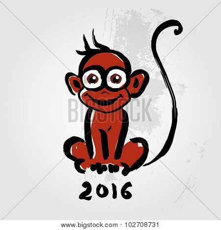 Chinese zodiac Monkey.