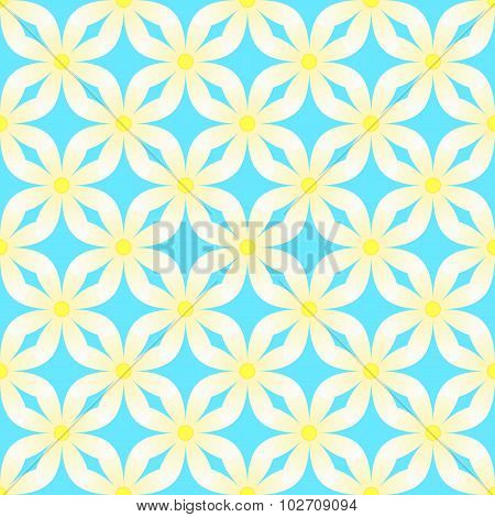 Camomile abstract pattern