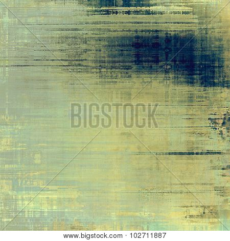 Old texture as abstract grunge background. With different color patterns: yellow (beige); blue; gray; cyan