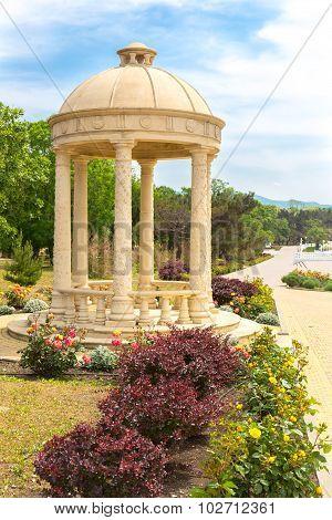 Rotunda in the park