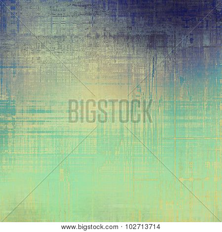 Antique grunge background with space for text or image. With different color patterns: yellow (beige); purple (violet); blue; cyan