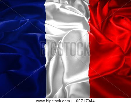 France Flag And Heart
