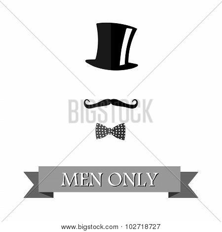 Men Only Black