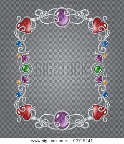 Gemstones Frame
