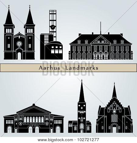 Aarhus Landmarks