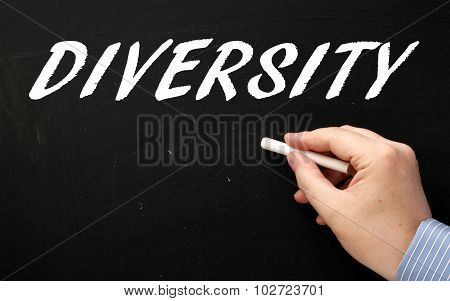 Writing Diversity on a Blackboard