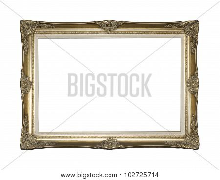 Gilded Victorian Style Picture Frame