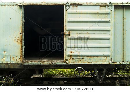 Tren de la ruina