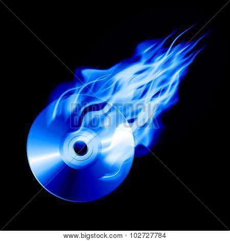 Cd In Fire